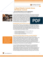 PLC-Based Robotic Controls Versus OEM Robotic Controls