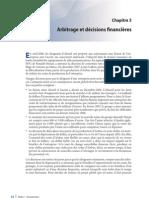 Arbitrage et Decisions financières- chap3