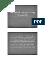 Beutel Family Photographs