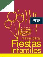 Menús Para Fiestas In Fan Tiles