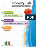 Lecture 3, Disorders of Development 3 (script)