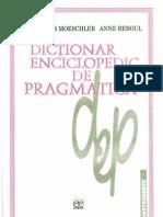 Moeschler Si Reboul - Dictionar de Pragmatica