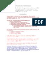 Essay Outline for TN Bar Exam 07'