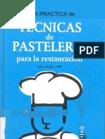 Tecnicas de Pasteleria