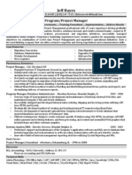 Business Analyst in Chicago IL Resume Jeff Hayes