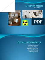Disinfection Group 3