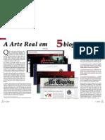 Arte Real Em 5 Blogs