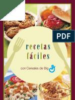 Recetas f+íciles Con Cereales de Big