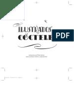 Ilustrados cocteles
