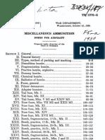 TR 1370-G, us Ammunition, Bombs for Aircraft, Oct 1