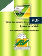 Manual Para Agregar o Descargar Archivos en El Grupo Virtual