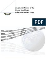 House Republicans Cyber Security Task Force Recommendations 2011-10-05