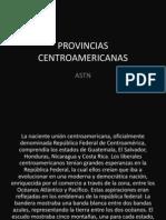 Provincias centroamericanas