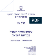 עיצוב מערך העורף במדינת ישראל