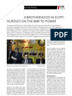 The Muslim Brotherhood in Egypt - Hurdles on the Way to Power