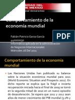 Comportamiento de la economía mundial