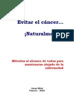 Evitar El Cancer Naturalmente