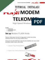 Tutorial Instalasi Modem Telkomsel Flash