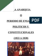 APUNTE DE LA ANARQUÍA