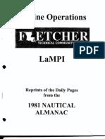 1981 Nautical Almanac