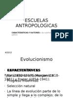 ESCUELAS ANTROPOLOGICAS