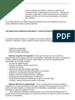 Objetivos en La Ensenanza