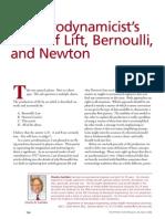 Bernoulli Newton Lift