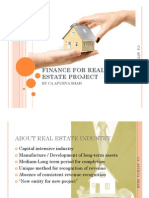 Finance for Real Estate Project