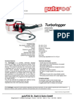 Product Bulletin PulsFOG Turbofogger