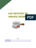 Las Recetas de Maussi Seebes