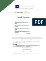 Teoría de Conjuntos - Matemáticas
