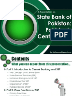 Central Banking in Pakistan