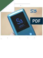 [Vorschau] YP-S3 mp3 von Samsung