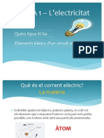 TEMA 1 – L'electricitat