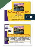 GWT Basics