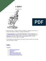 Microscópio óptico