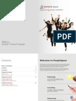 PeopleSpace corporate brochure q4 2011