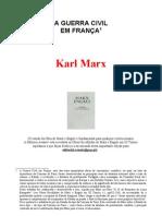 Marx - Guerra Civil na França