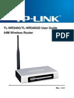 Tl Wr340g d User Guide