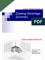 Chopper Frame Plans Drawing Advantage Summary