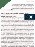 6.12 - As Reformas Organizacionais No Regime Militar