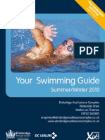 ElmbridgeXcelSwimmingGuideandTimetableSummerWinter