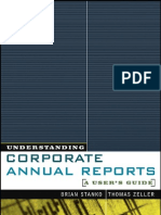 Understanding Corporate Annual Reports - A User's Guide 0471270199