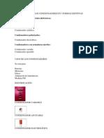 CLASIFICACIÓN DE LOS CONDENSADORES EN 3 FORMAS DISTINTAS