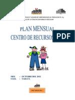 Plan Mensual de Octubre