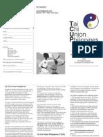 TCUP Brochure