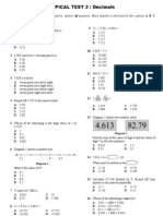 IT Maths Y5 Topical Test 3