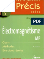 Electromagnétisme MP