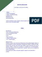Batata Com Atum