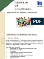 IMPORTANCIA DEL TRABAJO CLÍNICO GRUPAL